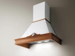 Купольная вытяжка Elica ORETTA WHA60 WHITE для интерьера в стиле кантри