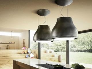 Дизайнерская островная вытяжка-люстра Elica SHINING CAST IRONF50