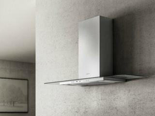 Elica Flat Glass – серия Т-образных вытяжек для кухни | обзор
